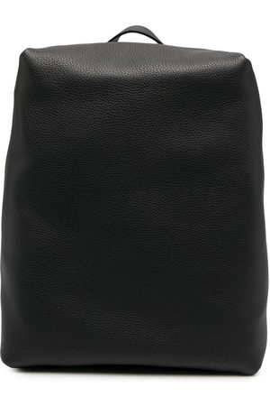 MARSÈLL Leather box backpack