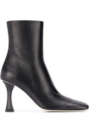 Proenza Schouler Women Heeled Boots - Sculpted heel square-toe boots