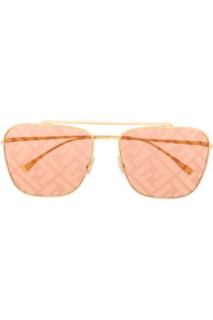 Fendi FF logo aviator sunglasses