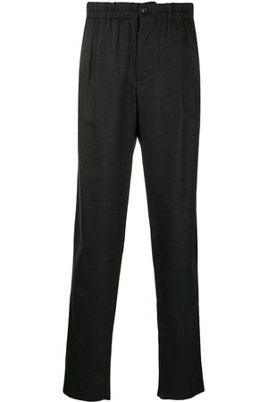 Armani Mid-rise straight trousers - Grey