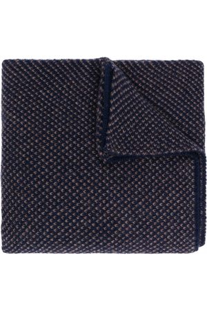 DELL'OGLIO Knitted cashmere scarf