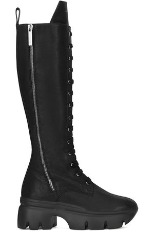 Giuseppe Zanotti Women Thigh High Boots - Knee-high lace-up boots