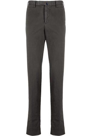 Incotex Men Chinos - Straight-leg slim-fit chinos - Grey