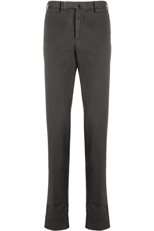 Incotex Straight-leg slim-fit chinos - Grey