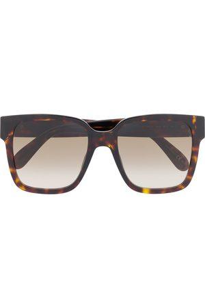 Givenchy Square-frame tortoiseshell-effect sunglasses