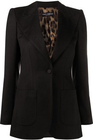 Dolce & Gabbana Wide lapel blazer jacket