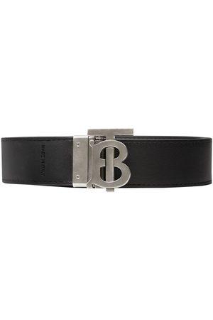 Burberry Reversible monogram London Check belt