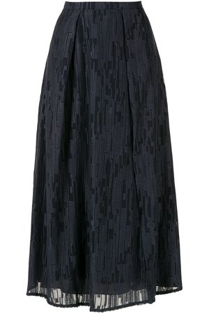 Alcaçuz Francisca pleated skirt
