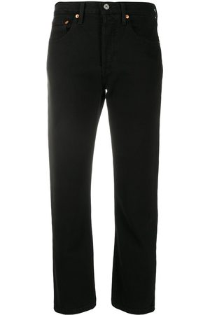 Levi's Women Straight - Straight-leg cropped jeans