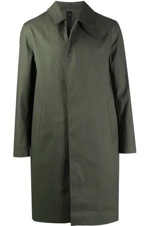 MACKINTOSH CAMBRIDGE single-breasted car coat