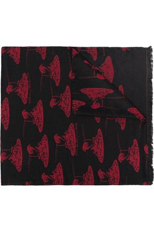 Paul Smith Spaghetti print scarf