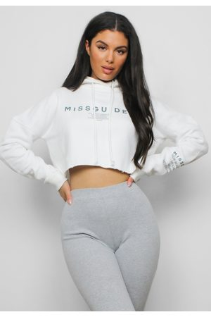 Missguided Petite Cropped Hoodie