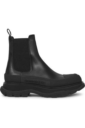Alexander McQueen Women Chelsea Boots - Tread leather Chelsea boots
