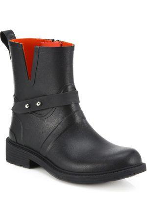 RAG&BONE Women's Moto Rain Boots - - Size 41 (11)