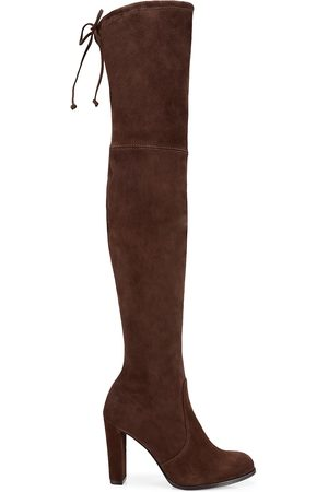Stuart Weitzman Women's Highland Over-The-Knee Suede Boots - - Size 9.5