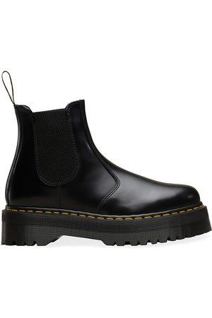 Dr. Martens Women Chelsea Boots - Women's 2976 Quad Leather Chelsea Boots - - Size 10