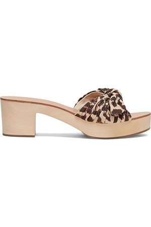 Loeffler Randall Women's Regina Clog Slide Sandals - - Size 10