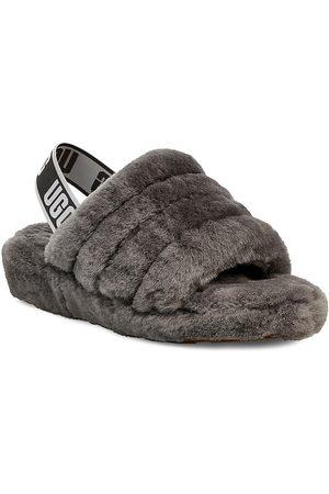 UGG Women's Fluff Yeah Sheepskin Slingback Slippers - - Size 9