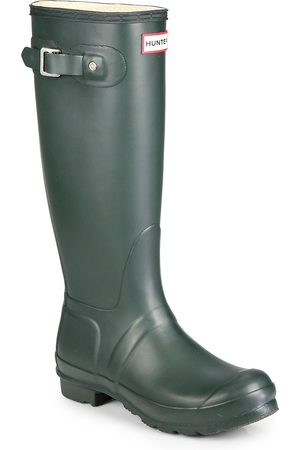 Hunter Women's Original Tall Rain Boots - Green - Size 5