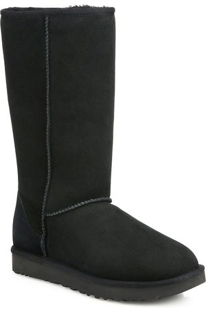 UGG Women's Classic Tall II Shearling-Lined Suede Boots - - Size 9