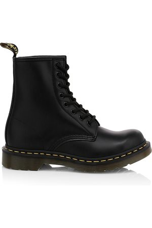 Dr. Martens Women's 1460 Smooth Leather Combat Boots - - Size 11