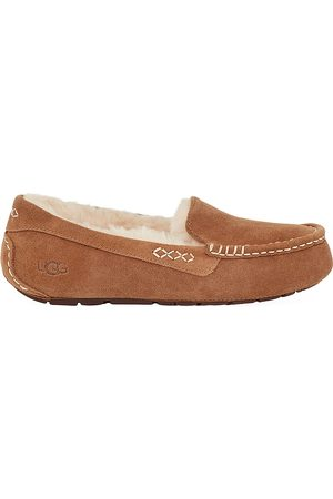 UGG Women's Ansley Pure-Lined Suede Slippers - - Size 8