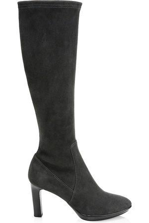 Aquatalia Women's Rhumba Knee-High Suede Boots - - Size 12