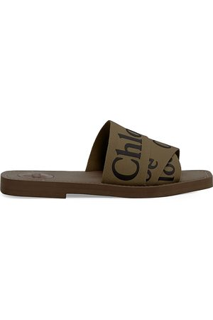 Chloé Women's Woody Flat Sandals - - Size 41 (11)
