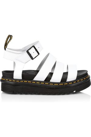 Dr. Martens Women's Blaire Leather Platform Sandals - - Size 11