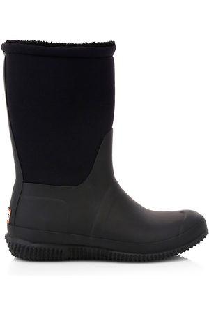 Hunter Women's Original Faux Sherpa-Lined Boots - - Size 6