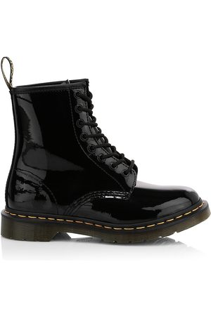 Dr. Martens Women's 1460 Patent Leather Combat Boots - - Size 10