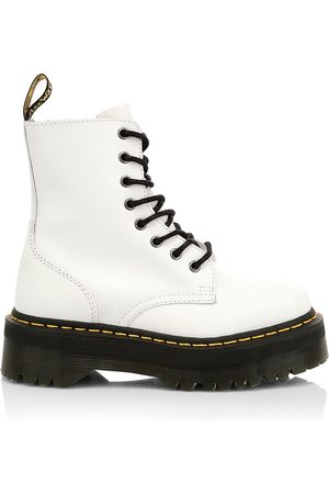Dr. Martens Women's Jadon Leather Combat Boots - - Size 7 UK (9 US)
