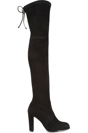 Stuart Weitzman Women's Highland Over-The-Knee Suede Boots - - Size 9