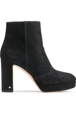 Kate Spade Women's Barrett Suede Platform Ankle Boots - - Size 9.5