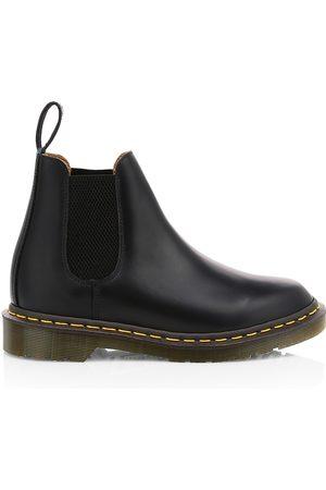 Comme des Garçons Women's x Dr. Martens Leather Chelsea Boots - - Size 10