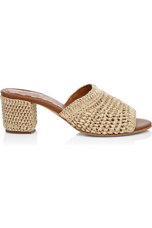 Carrie Forbes Women's Jole Woven Mules - - Size 36 (6)