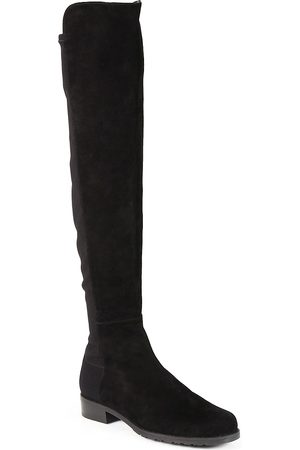 Stuart Weitzman Women's 5050 Over-The-Knee Stretch-Suede Boots - - Size 9