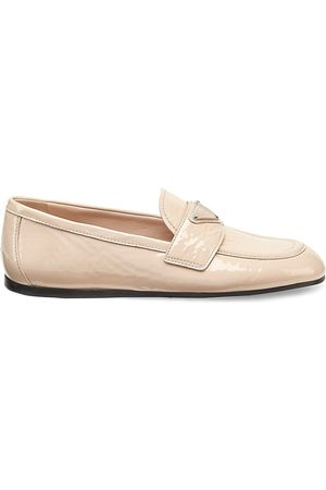 Prada Women's Patent Leather Driving Loafers - - Size 40.5 (10.5)