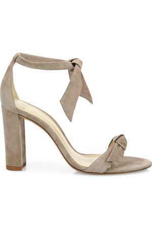 ALEXANDRE BIRMAN Women's Clarita Bow Suede Sandals - - Size 42 (12)