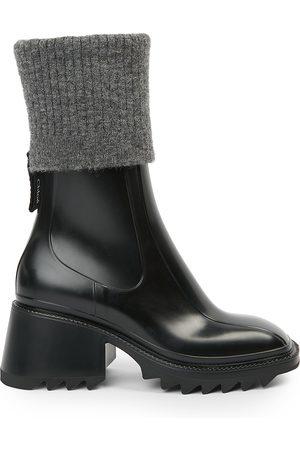 Chloé Women's Betty PVC Sock Rain Boots - - Size 40 (10)