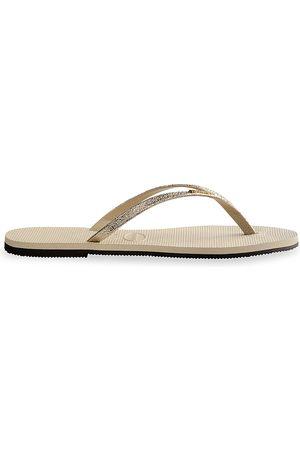 Havaianas Women's You Shine Flip Flops - - Size 39-40 (9-10)