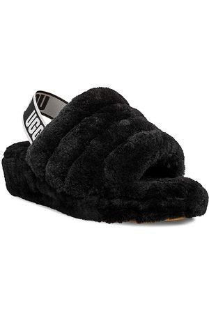 UGG Women's Fluff Yeah Sheepskin Slingback Slippers - - Size 5
