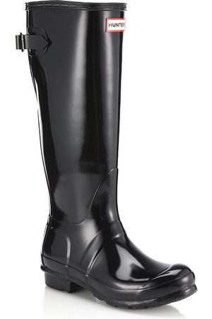 Hunter Women's Original Tall Gloss Rain Boots - - Size 6