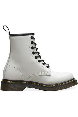Dr. Martens Women Boots - Women's 1460 Leather Combat Boots - - Size 6