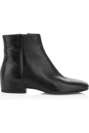 Aquatalia Women's Ulyssa Leather Ankle Boots - - Size 9