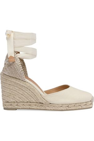 Castaner Women's Carina Canvas Wedge Espadrilles - - Size 36 (6)