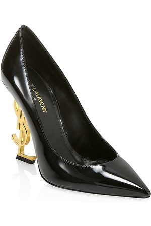 Saint Laurent Women's Opyum Point-Toe Patent Leather Pumps - - Size 39 (9)