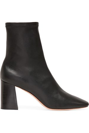 Loeffler Randall Women's Elise Leather Ankle Boots - - Size 9.5