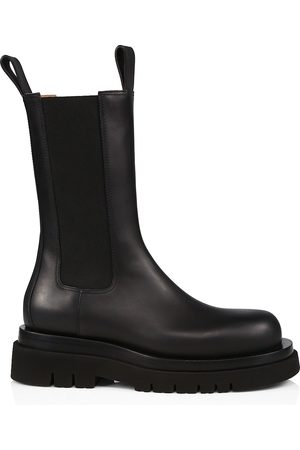 Bottega Veneta Women's BV Lug Leather Chelsea Boots - - Size 35 (5)