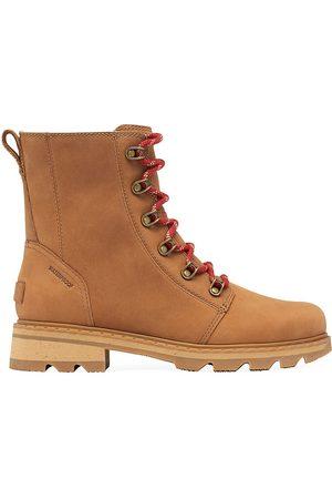 sorel Women's Lennox Leather Combat Boots - - Size 8.5